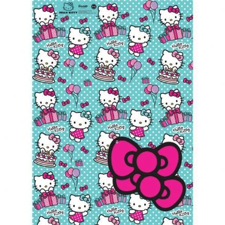 Hello Kitty Gift Wrap and Tags
